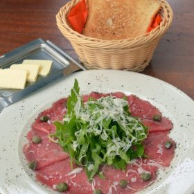 Beef carpaccio delivery
