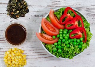 Simple vege salata Fit stop dostava