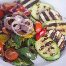Grilled vegetables delivery