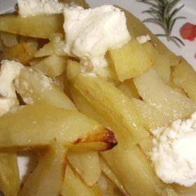 Ivanjica potato on kaymak