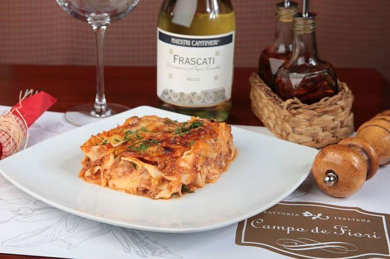 Lasagne al ragu dostava