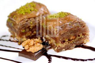 Baklava Hanan walnut chocholatte delivery