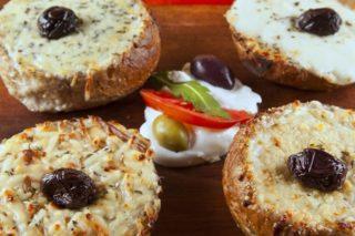 Bruschette Quattro formaggi delivery