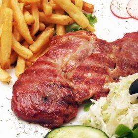 Smoked pork neck veshalitza