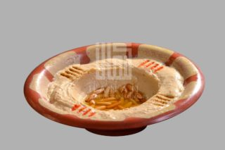 Hummus with pine nuts and g butter delivery