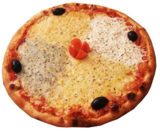 Quattro formaggio pizza delivery