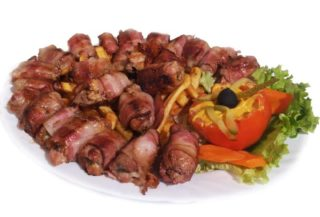 Rolled pork kabob 1 kg delivery