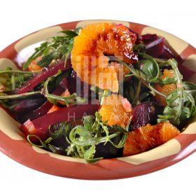 Salata roka bil shamandar
