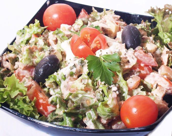 Tunjevina obrok salata dostava
