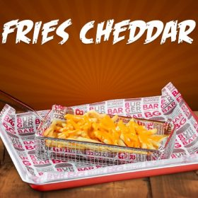 Fries Cheddar