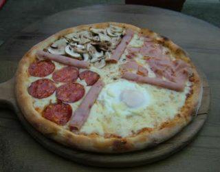 Quattro stagione Clemenza pizza dostava
