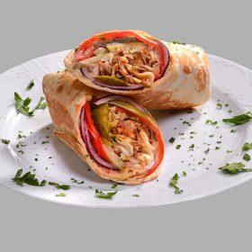 Shawarma jaj sandwich