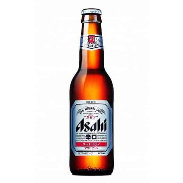 Japansko pivo Asahi delivery