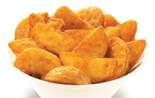 Spicy potato wedges Mangiare delivery