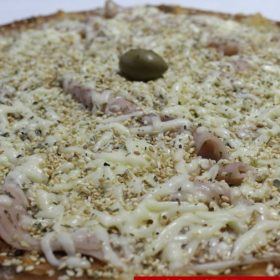 Pizza sesame
