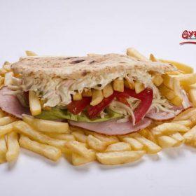 Gyropolis pita sendvič pečenica