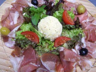 Prosciutto plate delivery