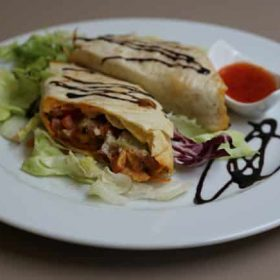 Beef buritto