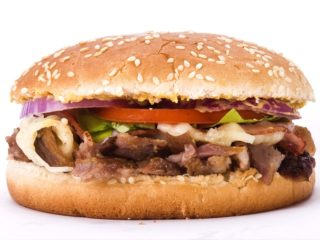 Girburger with cheese Gyropolis Beograd dostava