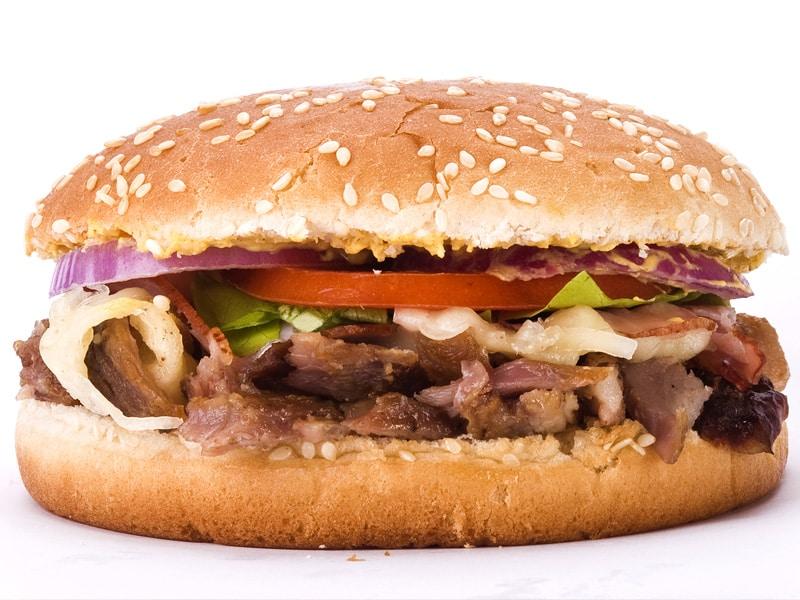 Girburger sa sirom i pečenicom dostava