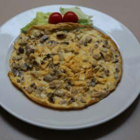 Omelette if desired