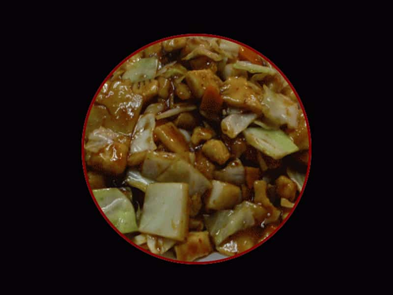 Chicken with bamboo and Chinese mushrooms delivery