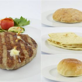 Stuffed pljeskavitsa delivery