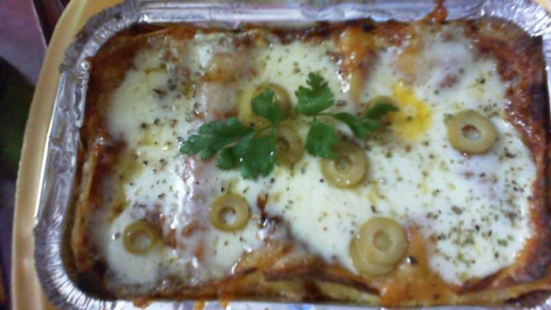 Lasagne delivery