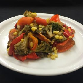 Chinese grilled vegetables