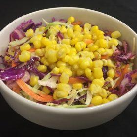 Mixed salad with corn