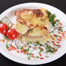 Moussaka potatoes
