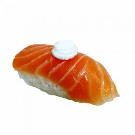 Nigiri salmon, cream cheese