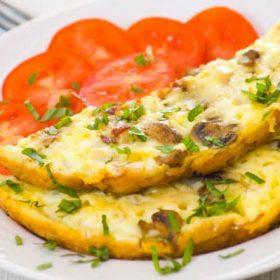 Omlet sa šampinjonima dostava