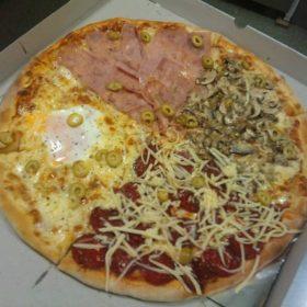 Pizza Quattro stagioni dostava