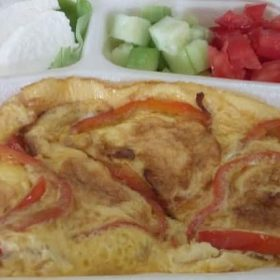 Omlet sa paprikom dostava