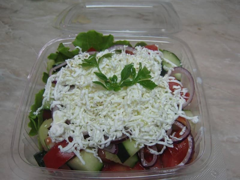 Shopska salad delivery