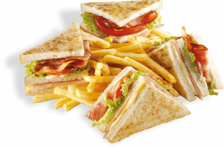Club sandwich 3 delivery