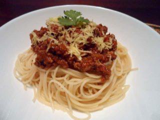 Spaghetti Bolognese delivery