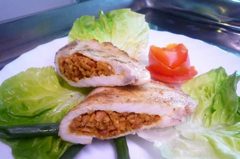 Stuffe chicken breasts delivery