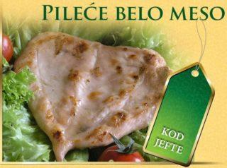 Pileće belo meso Roštilj Kod Jefte na Bulevaru dostava
