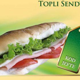 Topli sendvič dostava