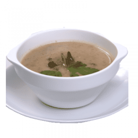 Shiitake cream soup