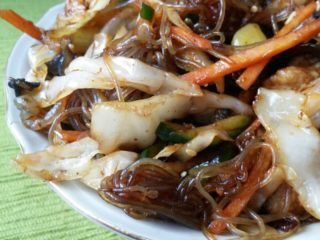 17. Noodles with chicken and vegetables delivery