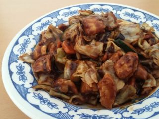 19. Chicken in hot sour n sweet sichuan sauce Chaos Banovo Brdo delivery