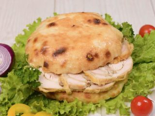 Shepherd's bun with rolled chicken Čobanov odmor delivery