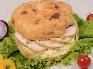 Shepherd's bun with rolled chicken and kaymak Čobanov odmor delivery