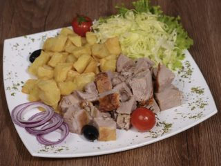 Meal rolled roasted veal 200 grams with shepherd's potato Čobanov odmor delivery