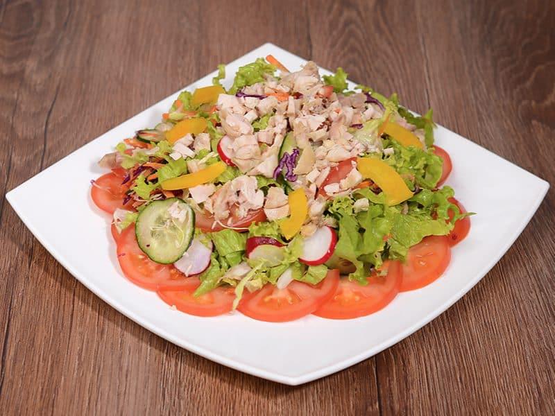 Čobanska salata s piletinom dostava