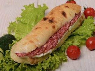 Shepherd's flat bread with sudzuk and cheese Čobanov odmor delivery