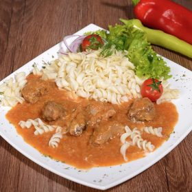 Shepherd's pork goulash